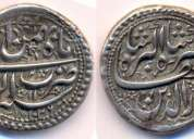 Gold & silver ashrafi antique coins of mughal period for sale
