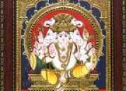 Ganesh tanjore paintings gallery