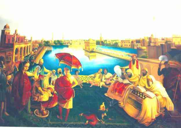 Hand Made Painting (Very Fine Painting) size 40x60 inch
