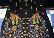 Kantha embroidery kurtis for sale