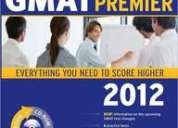 Kaplan gmat premier 2012 edition with cd and online test