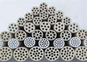 Ceramic membrane/ceramic membrane filter for oil separation in degreasing bath