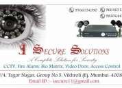 Cctv surveillance system, fire detection system, access control system