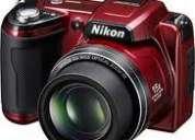 Nikon coolpix l110 semi slr, 15x high zoom, 12.1 mega pixel, full hd video