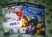 Two original ps2 games cd's @ 750/-