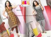 Exporters wholesale of salwar kameez dress material