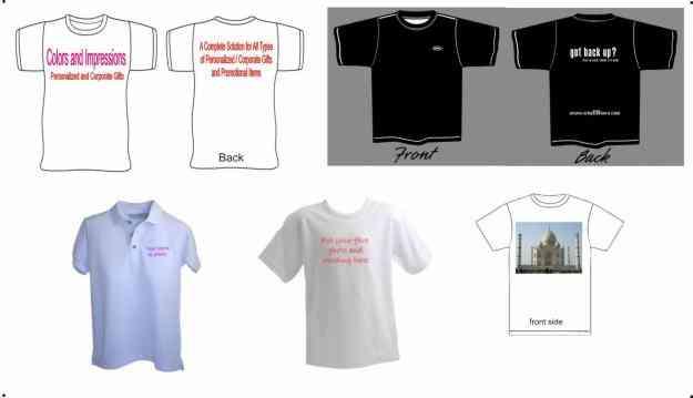 Digital Printed T-Shirts, Logo Printing, Promotional T-Shirts