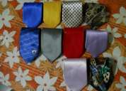 Various colored  ties used in good condition for sale.