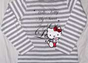 Bl 391 - hello kitty - kids girls long sleeve tops - tshirts