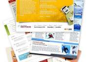 Professional web designing templates & designing staffs in 2 dvds