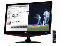 Good working 22 inch full HD LG  TV  (M227WA) WITH SIX MONTH COMPANEY WARRANTY(FIX PRICE)
