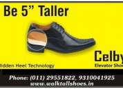 Celby height increasing elevator shoes india delhi mumbai bangalore chennai