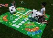 Giant garden games - giant chess, giant ludo, giant maths game, giant tic tac toe,