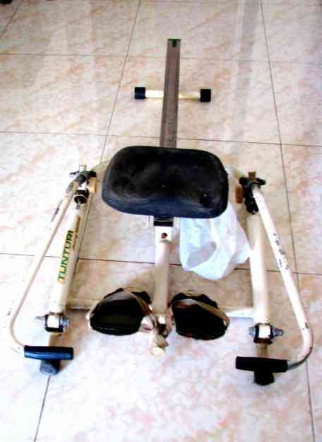 Second Hand Exercising rowing machine- Tunturi