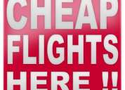 Cheapest airfare ever