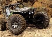Radio control rock crawler truck