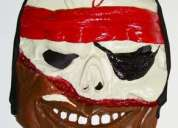 Pirate horror skeleton full face funny latex mask - rs.175/- only