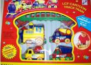 Track train - new cartoon style track train with magnetism conjunction !!! must buy!,limit