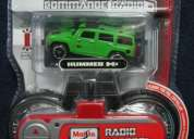 Hummer hx concept worlds smallest, radio control car, color - green- by maisto