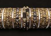 Fancy lakh bangle-24 churi,12 kada(6 set) cash on delivery