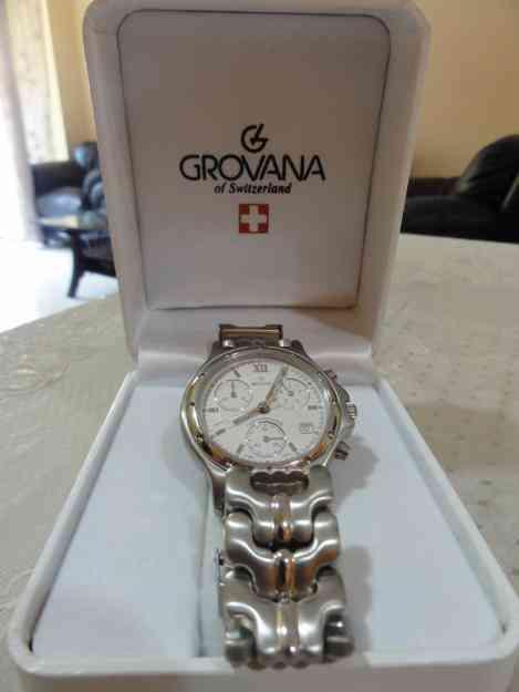 Grovana swiss watch