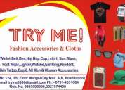 Fashion accessories & cloth
