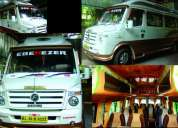 Luxury a/c tempo traveller for sale