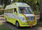 air conditioned tempo traveller for rent in kochi