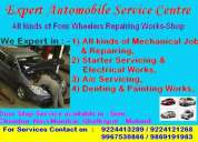 Wash a car / full car painting / denting