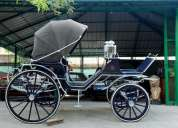 Vintage horse carriage