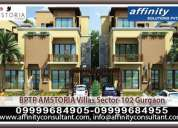 Bookings soon ! luxurious villas @ +91 9999684955  bptp amstoria villas