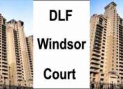 4bhk+1, available for rent at windsor court  in dlf phase -4, for detail call-9717771019