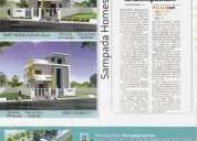 buy luxury villas with lowest cost in manneguda near l b nagar