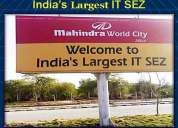 Special economic zone mahindra world city jaipur development authority approved plot jaipu