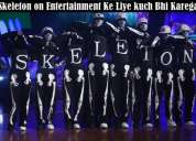 Dance auditions in delhi, india ( skeleton dance crew )