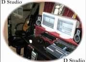 D studio - audio recording studio chennai