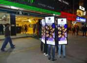 Iwalker delhi, lookwalker delhi, outdoor advertisement, event services.