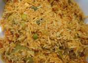 Hot veg/non-veg biriyani served for all your parties, events & get-togethers!!!!
