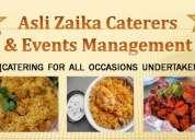 Asli zaika caterers & events management