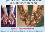 Professional mehandi artist is in navi mumbai now