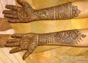Bridal mehendi in nerul seawood juinagar sanpada vashi