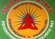 Online counseling / psychotherapy / hypnotherapy for psychological problems-ph:9989717653