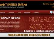 Renowed speacilist astrologer pandit bhimsen ji