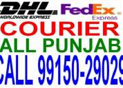 Fedex courier dhl courier ludhiana to usa canada australia africa georgia spain italy uk