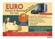 Euro packers and movers pvt ltd.