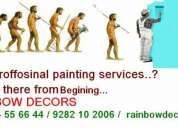 Building painting service in chennai & asian paint, berger paint