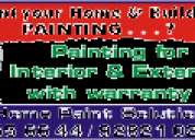 Asian paintings home paint solutin chennai