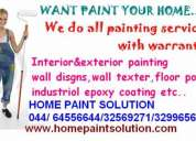 Paints in chennai + painting service in chennai + asian paints + berger paints contractor