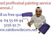 Home painting service + chennai + painting contractors chennai+ paints home decors