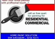 Building painting contractors in chennai & asian paint , berger paint